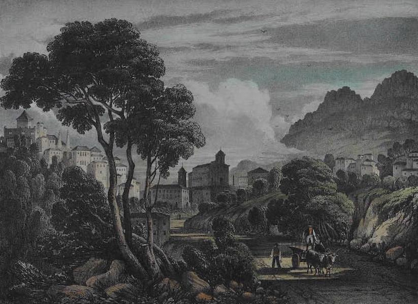 Views of Cintra - Cintra from the West (1830)