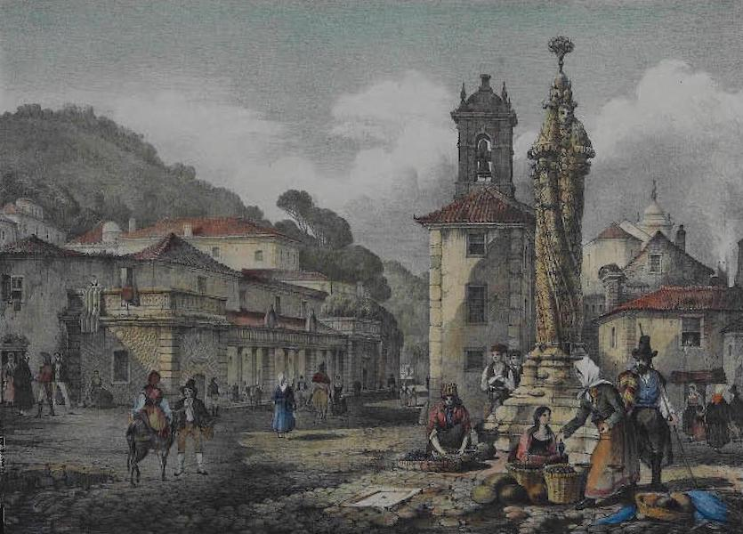 Views of Cintra - The Market Place, Cintra (1830)