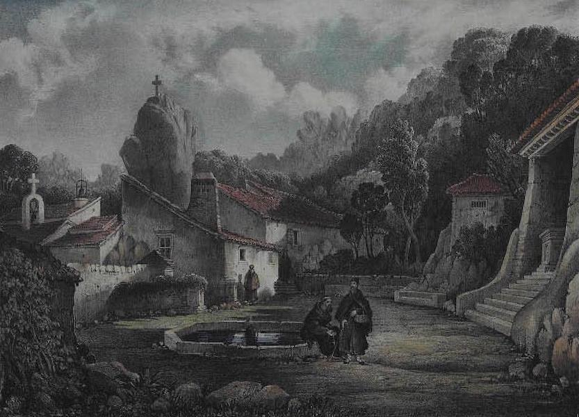 Views of Cintra - The Cork Convent (1830)