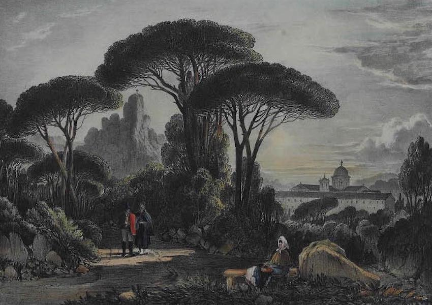 Views of Cintra - The Convent of the Penha Longa (1830)