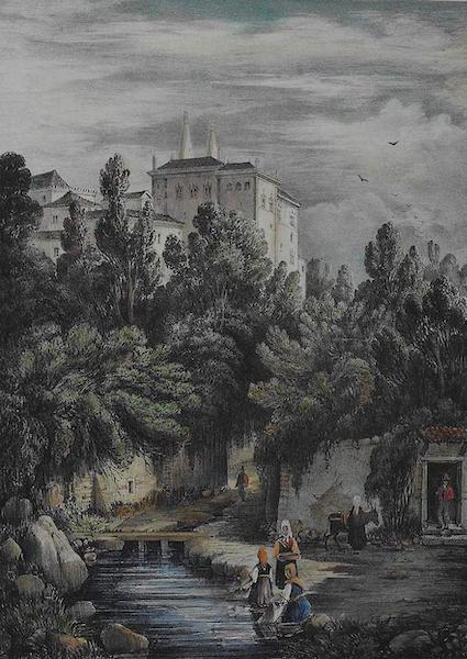 Views of Cintra - A Part of the Palace, Cintra (1830)
