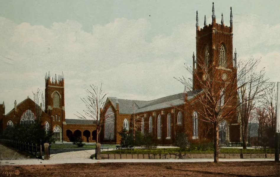 Views of London, Ontario - St. Paul's Cathedral and Cronyn Hall, London, Ont., Canada (1910)