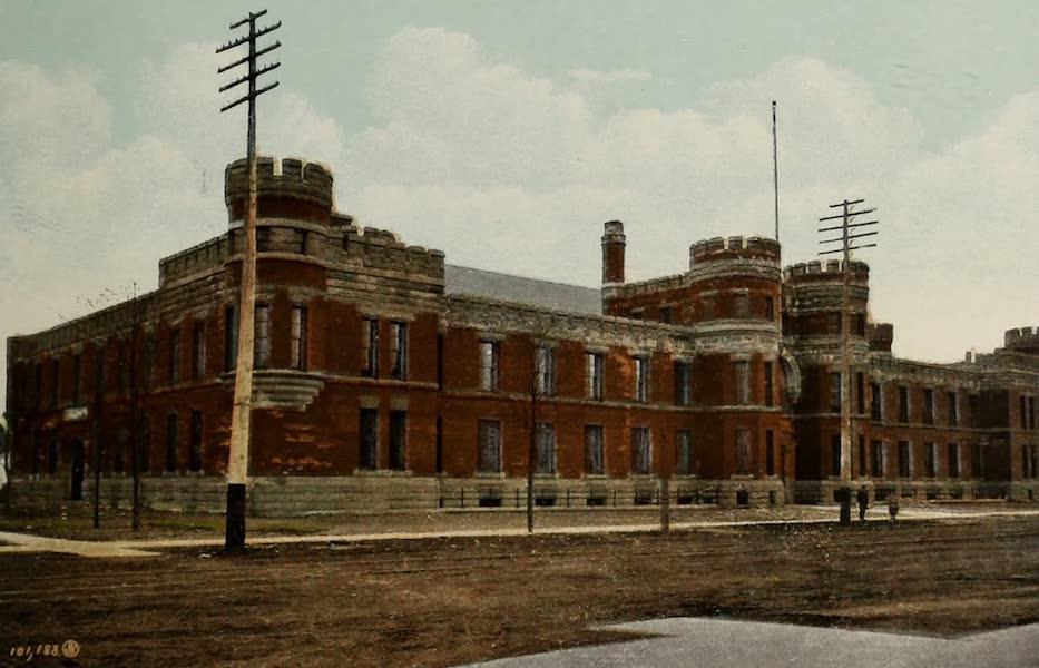 Views of London, Ontario - The Armouries, London, Canada (1910)