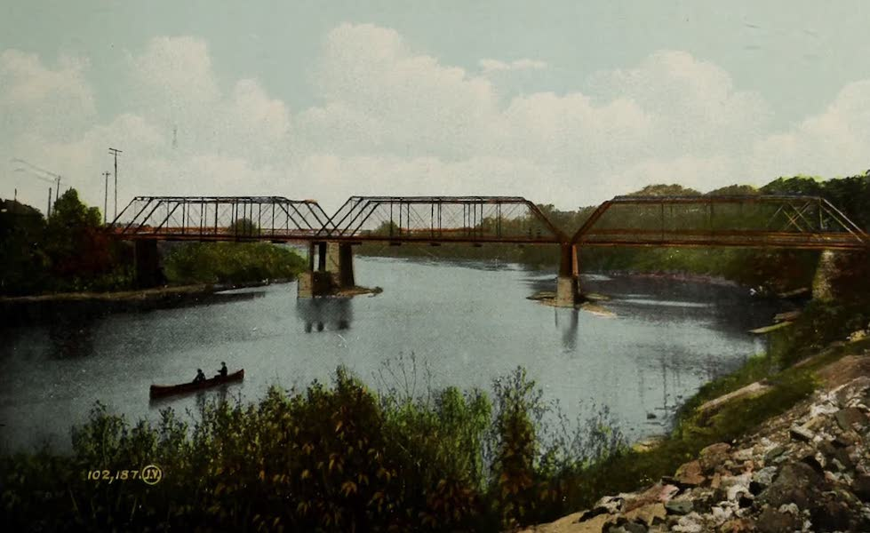 Views of London, Ontario - River Thames, London, Ont., Canada (1910)