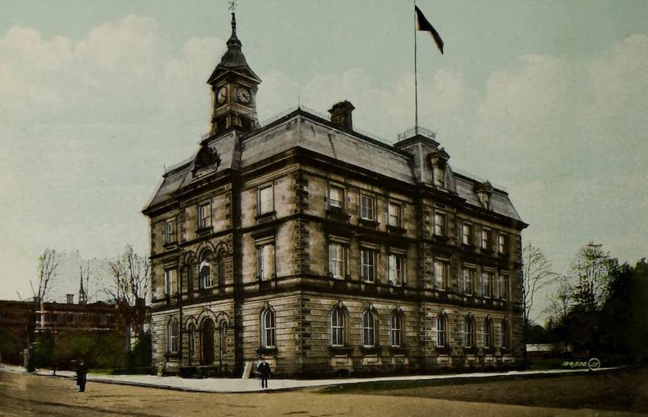 Views of London, Ontario - Custom House, London, Ont., Canada (1910)