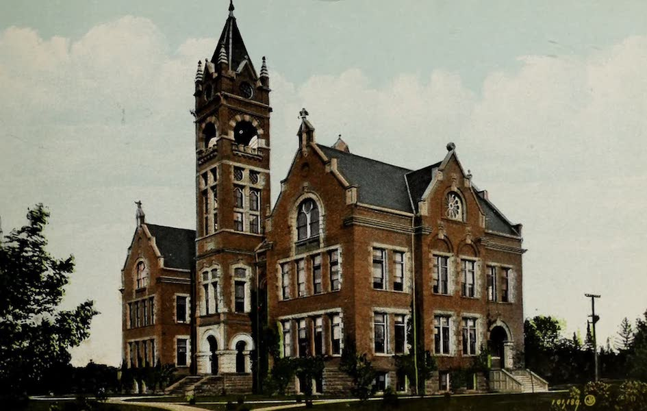 Views of London, Ontario - Normal School, South London, Ont., Canada (1910)