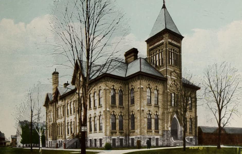 Views of London, Ontario - Collegiate Institute, London, Ont., Canada (1910)