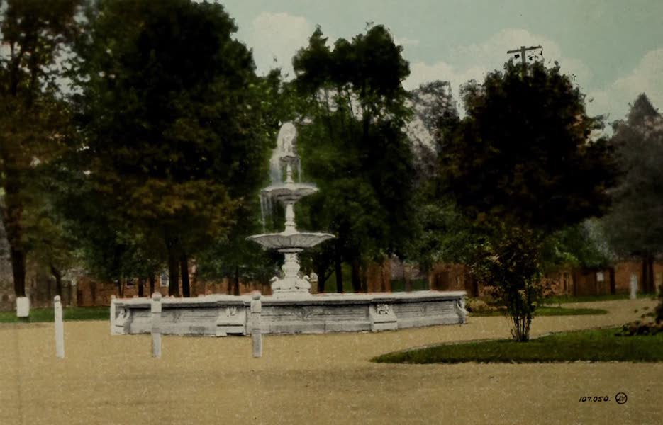 Views of London, Ontario - The Fountain, Victoria Park, London, Ont., Canada (1910)