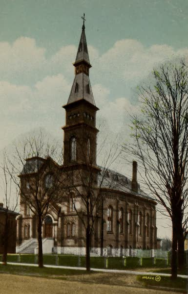 Views of London, Ontario - First Congregational Church, London, Ont., Canada (1910)