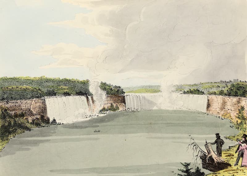 Views of Niagara - View from the Canada Shore, One Mile Below (1831)