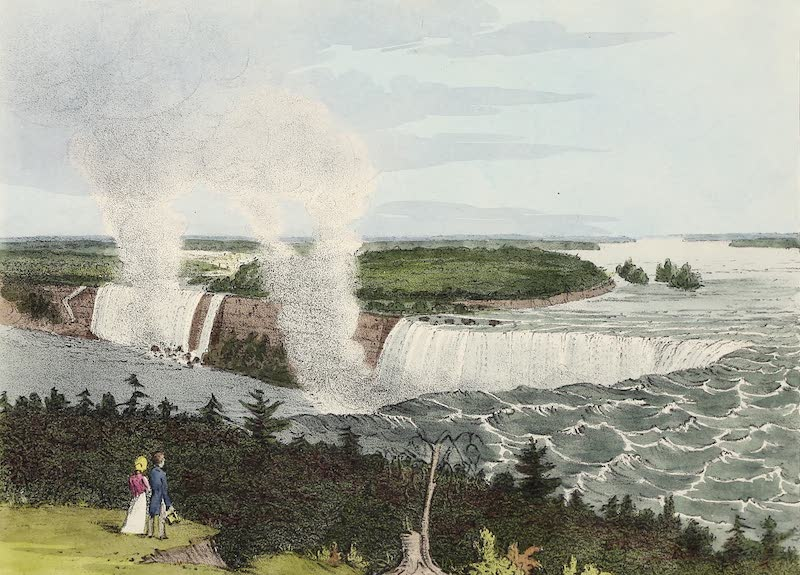 Views of Niagara - View from the Top of the Terrace Near Forsyth's Hotel (1831)