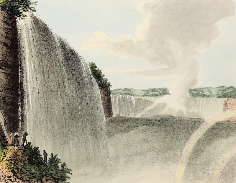 Views of Niagara - Table Rock From Below (1831)