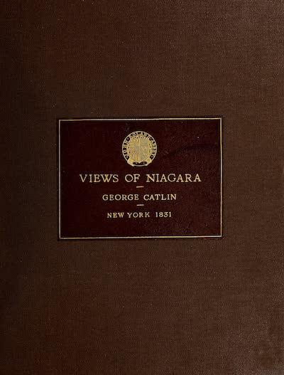 Views of Niagara - Front Cover (1831)