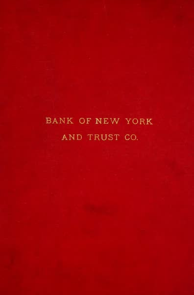 [Views of Old New York] - Front Cover (1875)