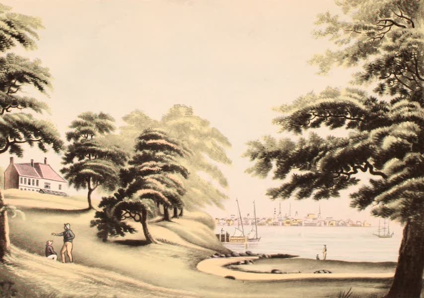 [Views of Old New York] - New York from Hobuck Ferry House, 1796 (1875)
