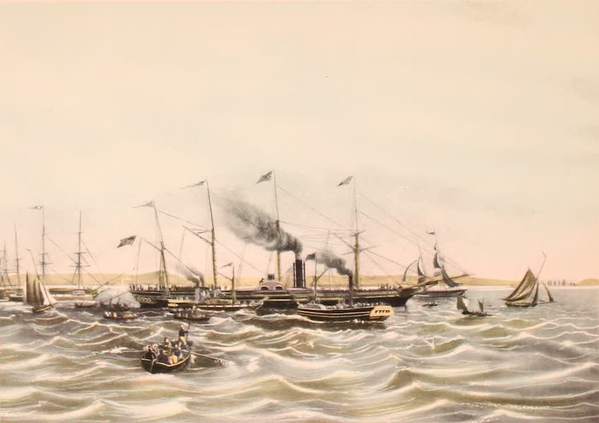 [Views of Old New York] - The Great Western, first steamship in transatlantic trade, 1838 (1875)