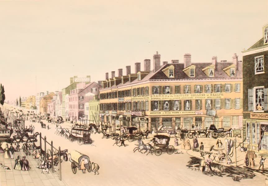 [Views of Old New York] - Broadway at Canal Street, 1835 (1875)