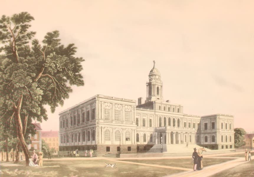 [Views of Old New York] - City Hall, New York, 1812 (1875)