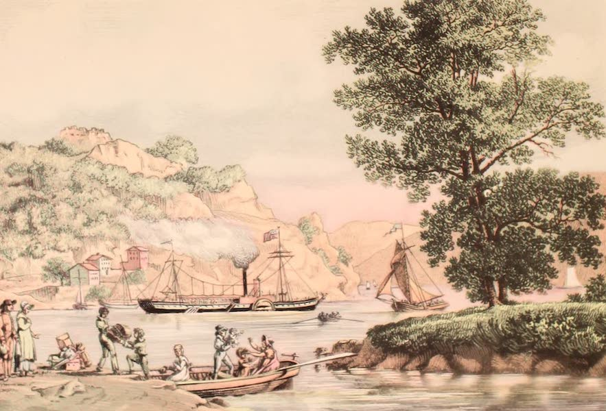 [Views of Old New York] - The Clermont on the Hudson River, 1810 (1875)