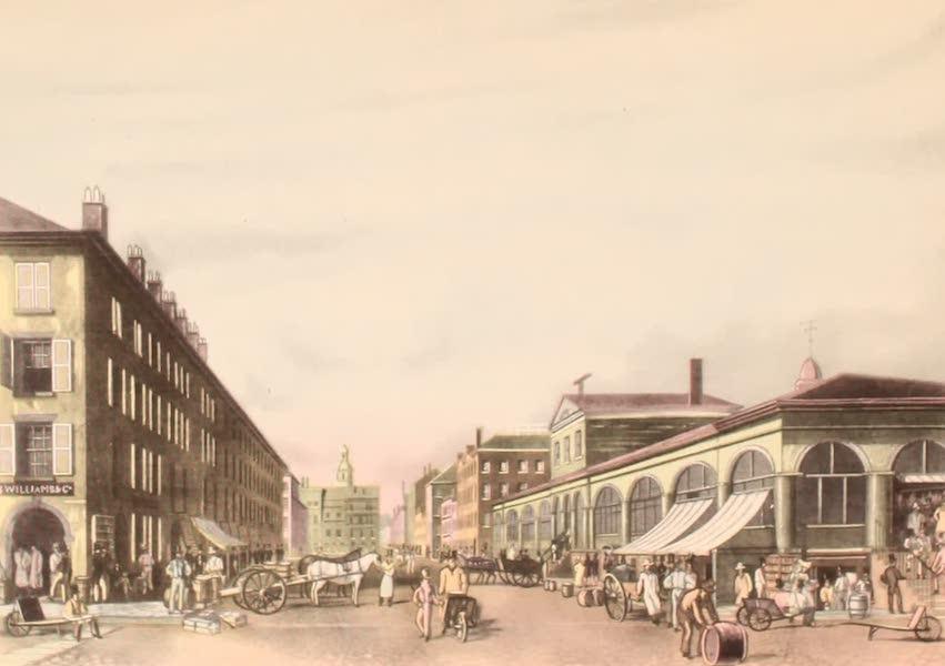 [Views of Old New York] - Fulton Street Market, 1834 (1875)
