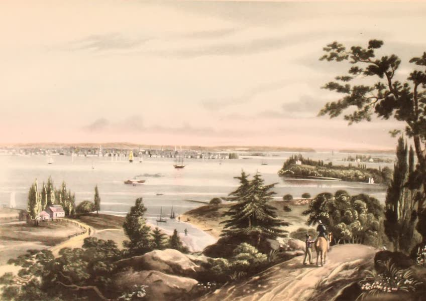 [Views of Old New York] - New York from Weehawk, 1820 (1875)
