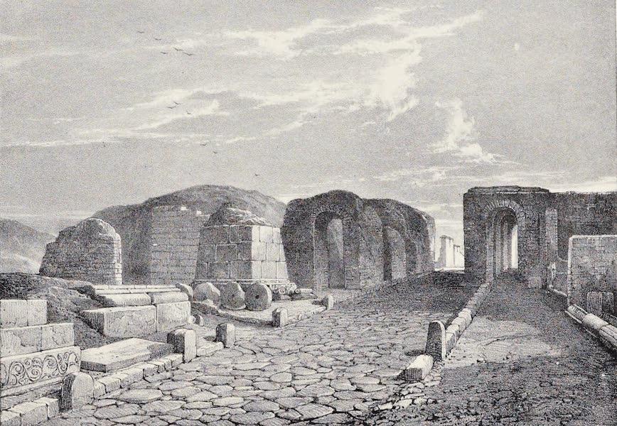 Views of Pompeii - The Herculaneum Gate (1828)