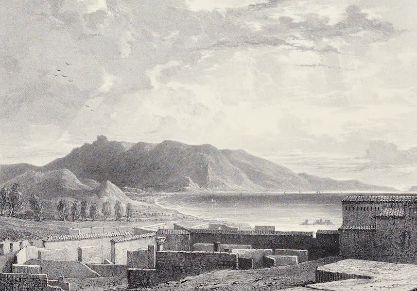 Views of Pompeii - View from the Walls (1828)