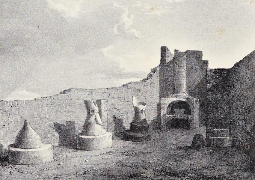 Views of Pompeii - Public Bake House (1828)