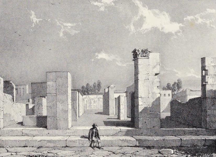 Views of Pompeii - House of Caius Sallust (1828)
