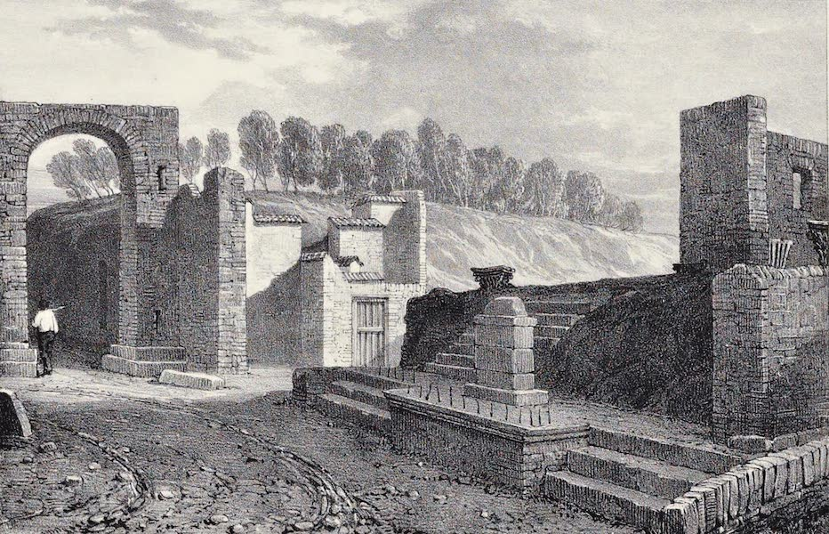 Views of Pompeii - Temple of Fortune (1828)