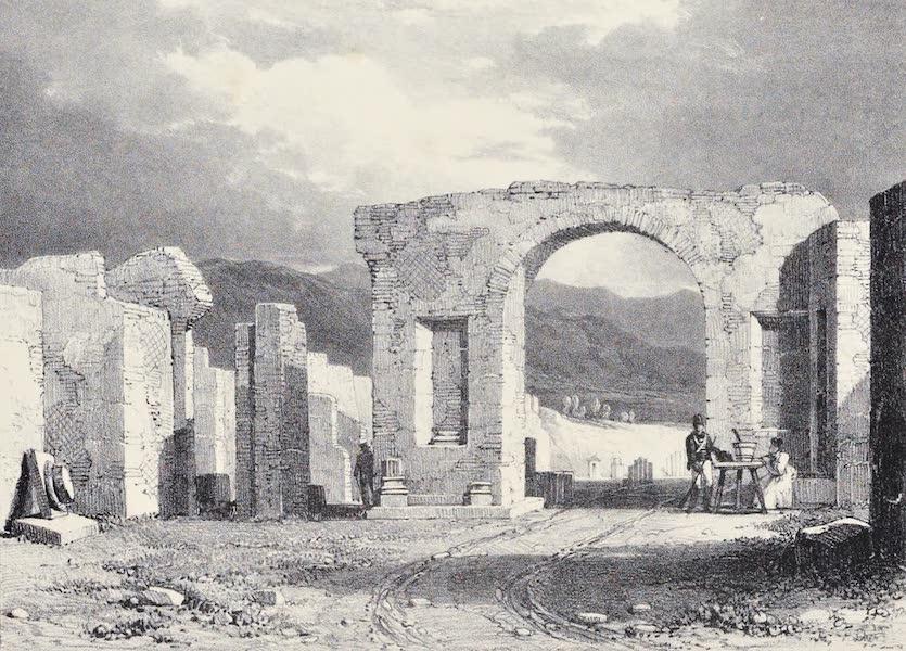 Views of Pompeii - Entrance to the Forum (1828)