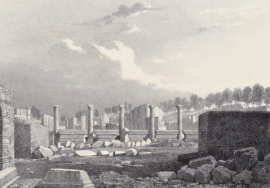 Views of Pompeii - Basilica (1828)