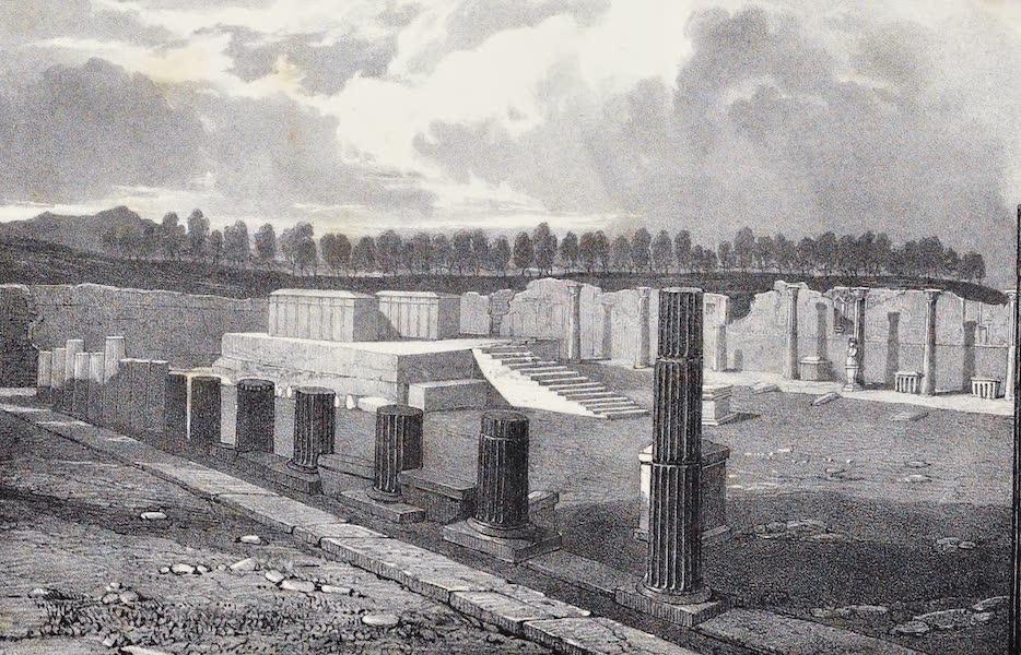 Views of Pompeii - Temple of Venus (1828)