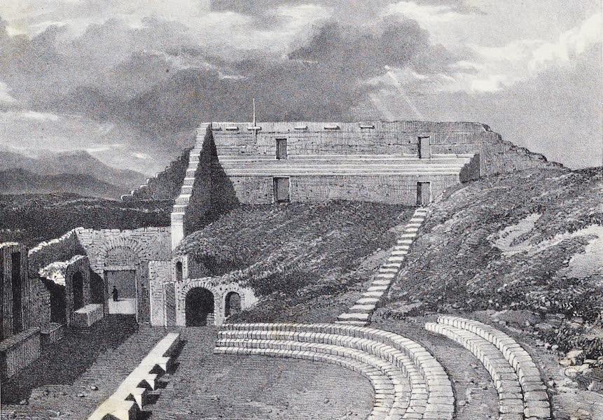 Views of Pompeii - Tragic Theatre (1828)