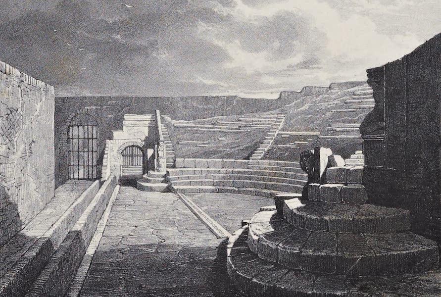 Views of Pompeii - Comic Theatre (1828)