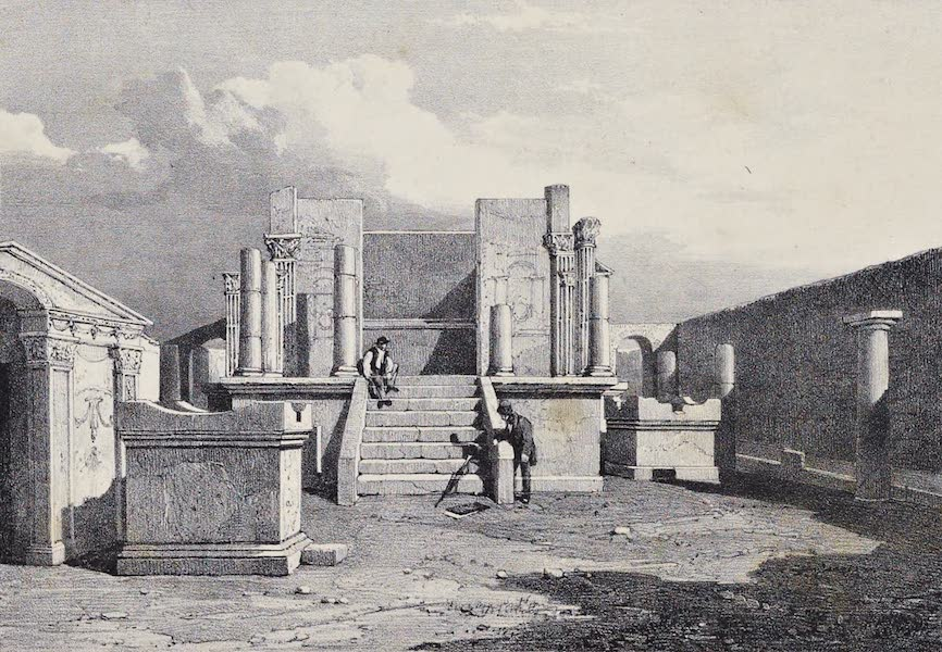 Views of Pompeii - Temple of Isis (1828)