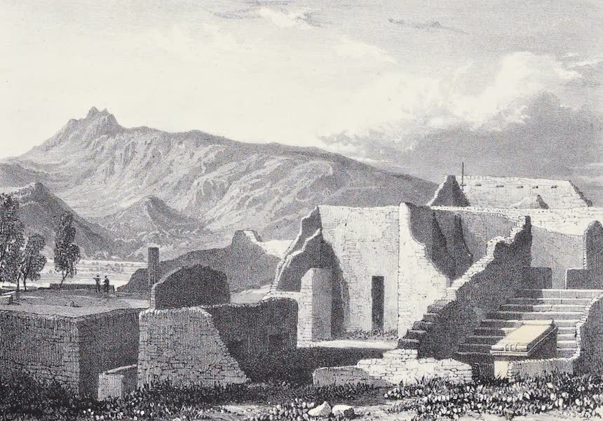 Views of Pompeii - Temple of Aesculapius, and Sculptor's Shop (1828)