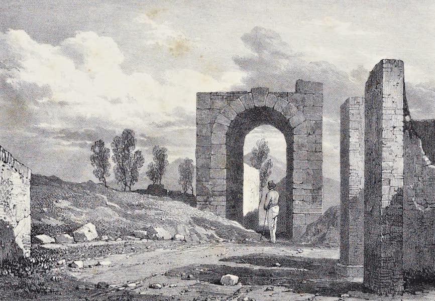 Views of Pompeii - Nola Gate (1828)