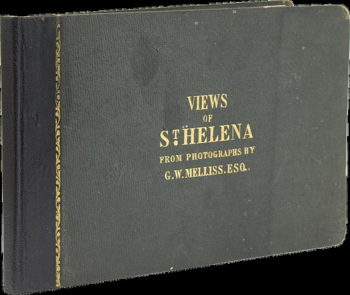 Views of St. Helena - Book Display (1857)