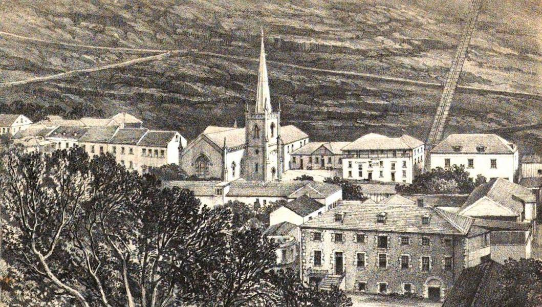 Views of St. Helena - Views of Lower Part of James Town (1857)