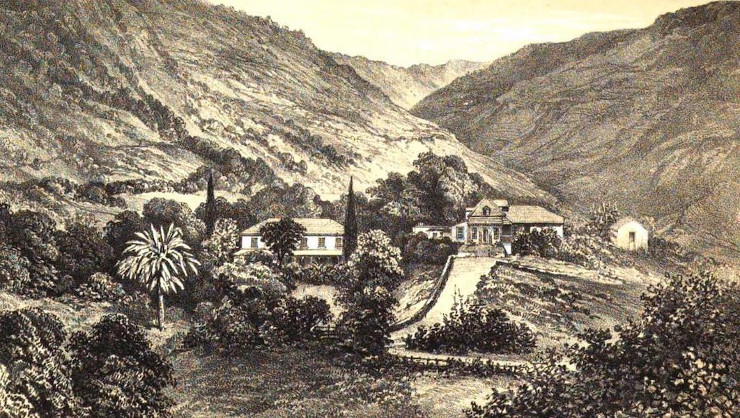 Views of St. Helena - The Briars (1857)