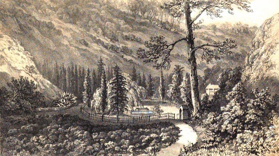 Views of St. Helena - Napoleon's Tomb (1857)