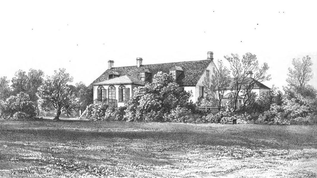 Views of St. Helena - Marshal Bertrand's Cottage (1857)