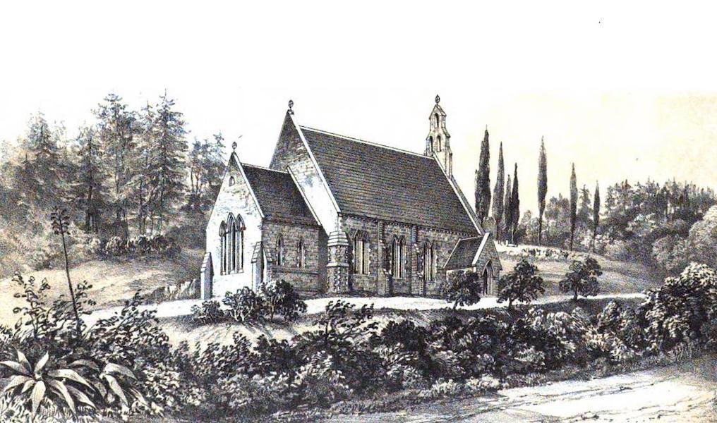 Views of St. Helena - St. Paul's Church (1857)