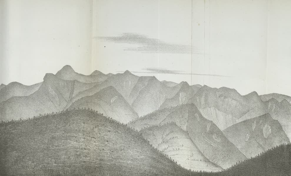 Views of the Adirondack Mountain Region - View of the Adirondack Mountains (1838)