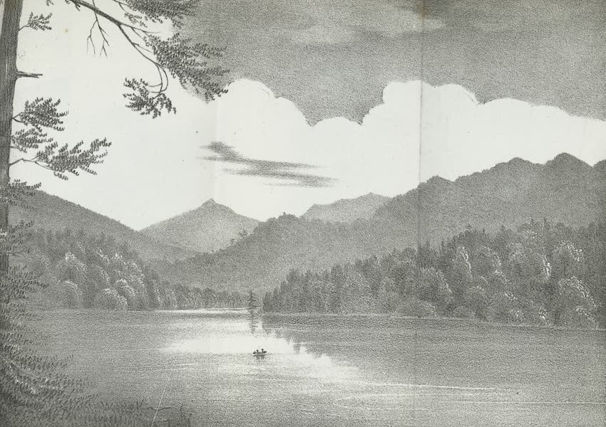 Views of the Adirondack Mountain Region - View of Mt. Mc.Martin (1838)