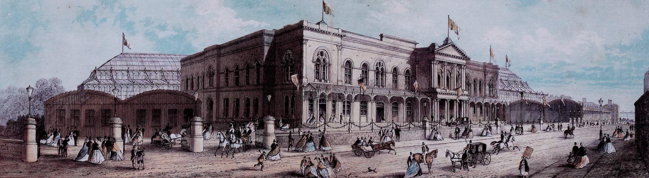 Views of the Dublin Exhibition - Dublin International Exhibition (Front in Earlsfort Terrace) (1865)