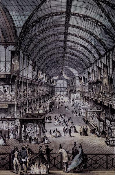 Views of the Dublin Exhibition - Dublin International Exhibition (Interior) (1865)