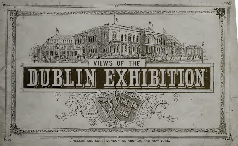 Great Britain - Views of the Dublin Exhibition
