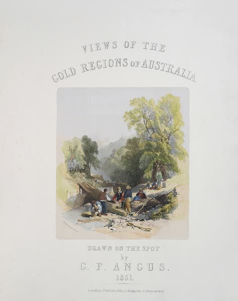Views of the Gold Regions of Australia - Title Page (1851)